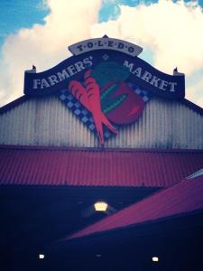 Image of the Toledo Farmer's Market.